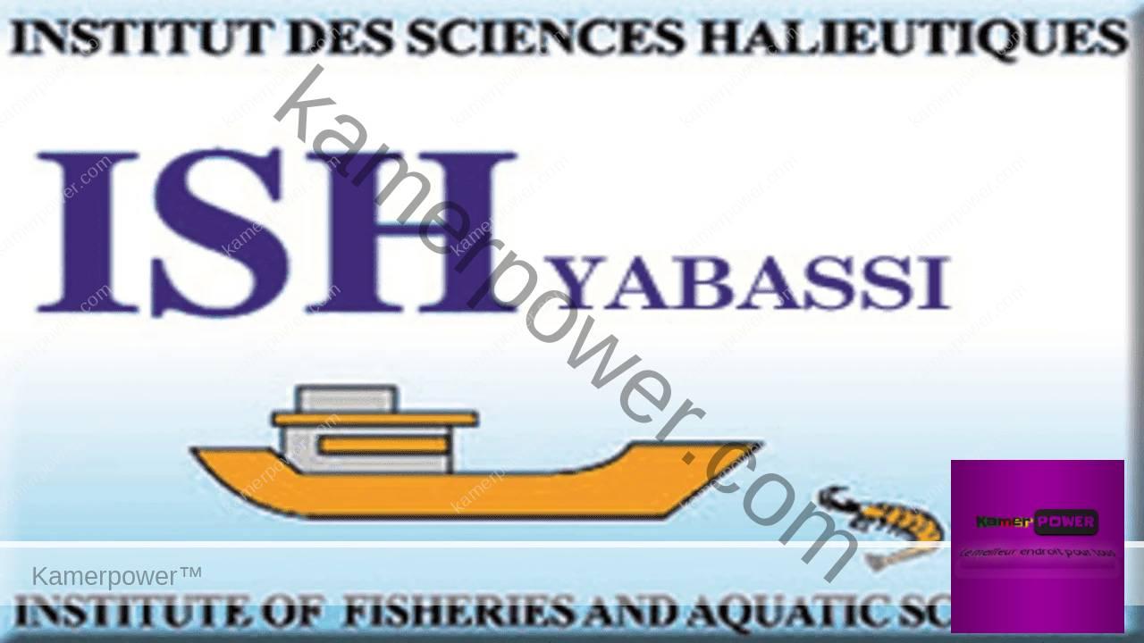 ISH Yabassi Institut des Sciences Halieutiques (ISH)