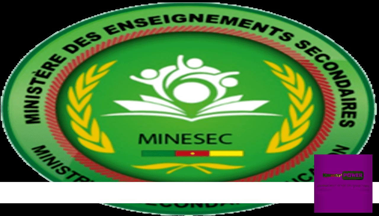 Minesec Cameroun www.minesec.cm 2019-2020 2021