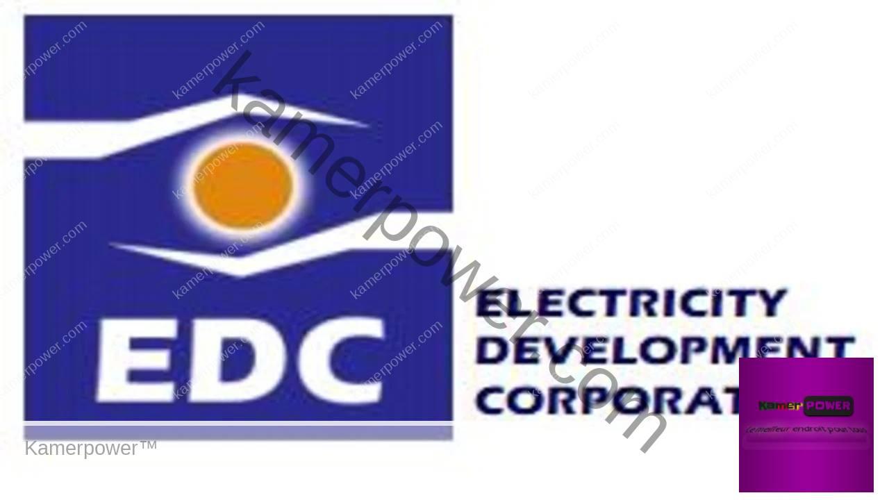 Recrutement EDC Electricity Development Corporation Cameroon