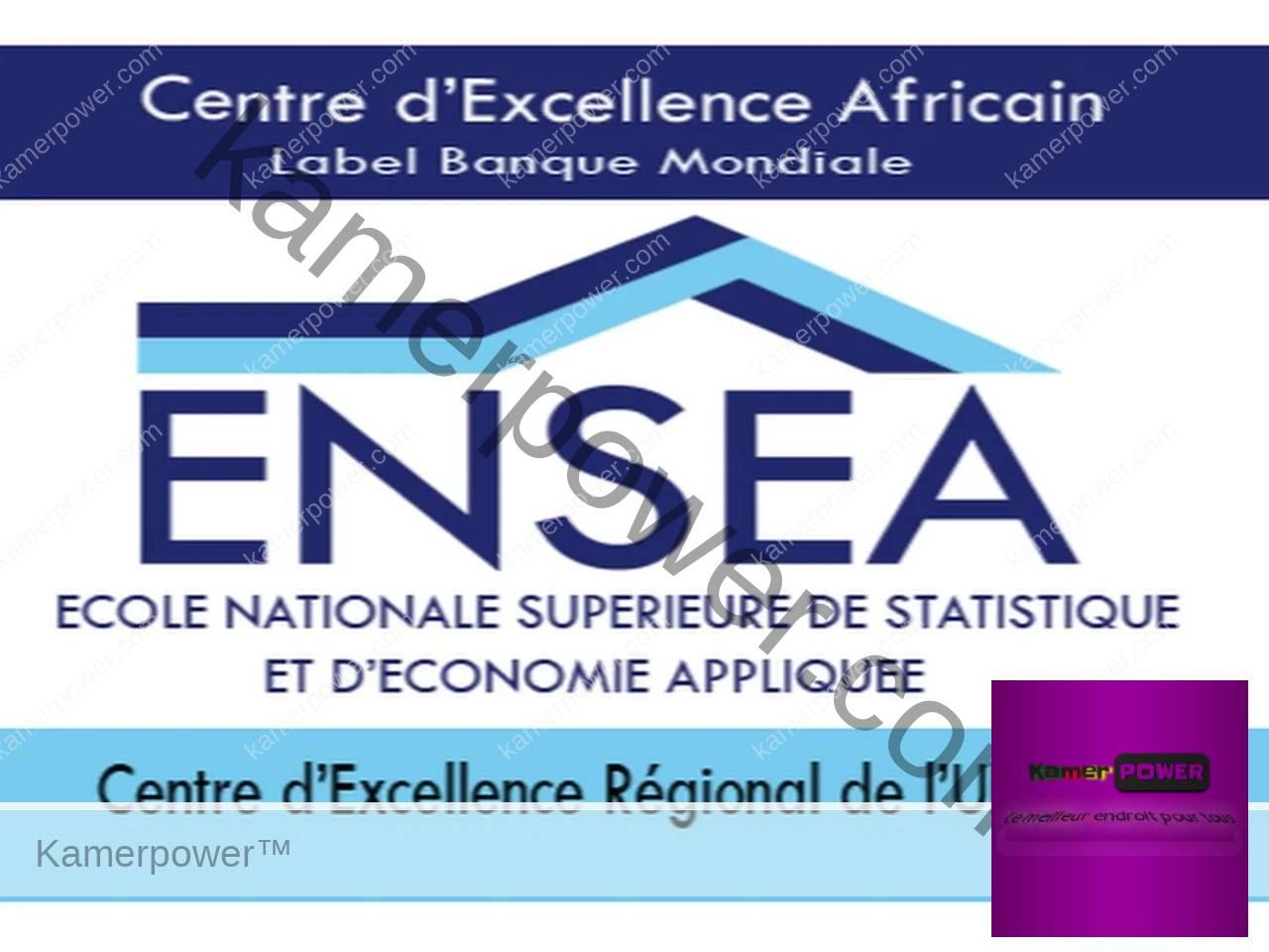 Comment integrer l'ENSEA - Concours d'entrée TSS, AS & ISE 2021-2022 Cote d'ivoire